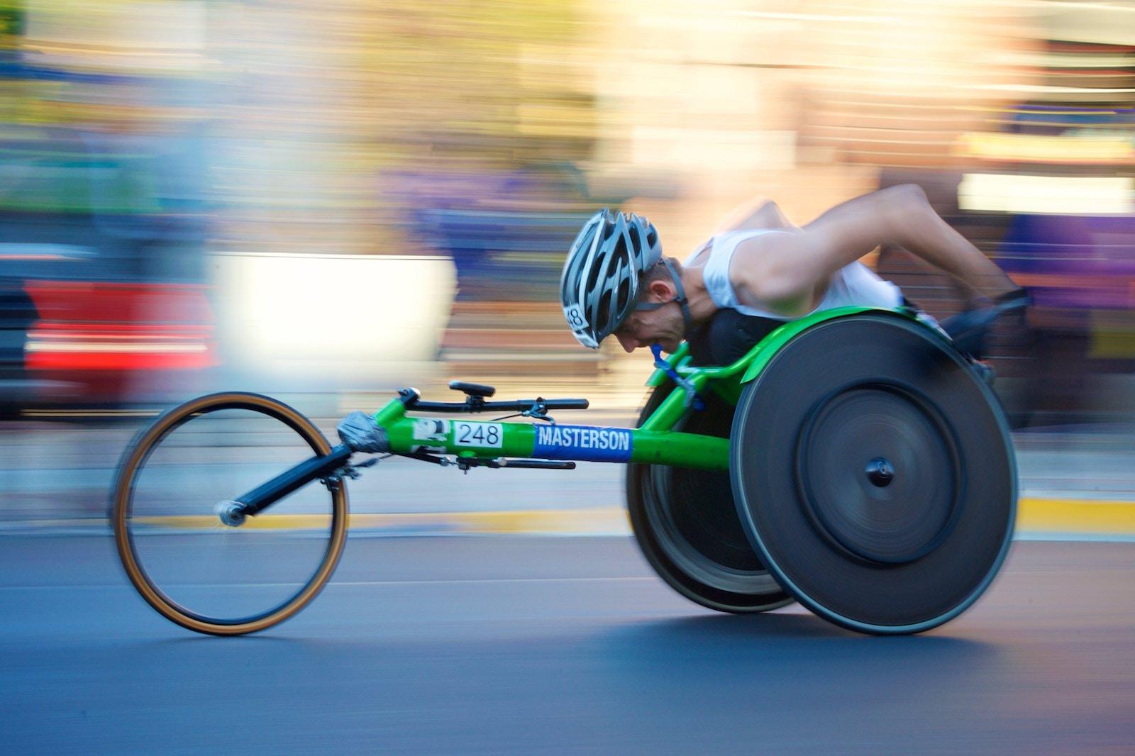 Chaise roulante @Seth Kane