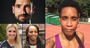 Quatre nouveaux sportifs et sportives pour la rentrée !