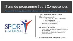 Bilan Sport Compétences